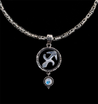 Sterling Silver Sagittarius Necklace