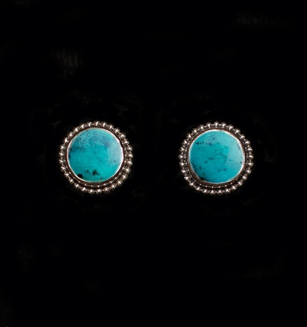 Turquoise Sterling Silver Studs