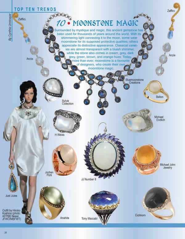 Bluemoonstone Creations Press from CIJ International Jewelry Trends & Colours