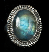 Handcrafted Sterling Silver Labradorite Ring