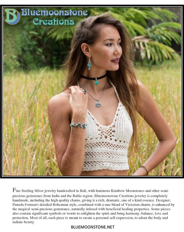 Bluemoonstone Creations featured in Style Up Magazine