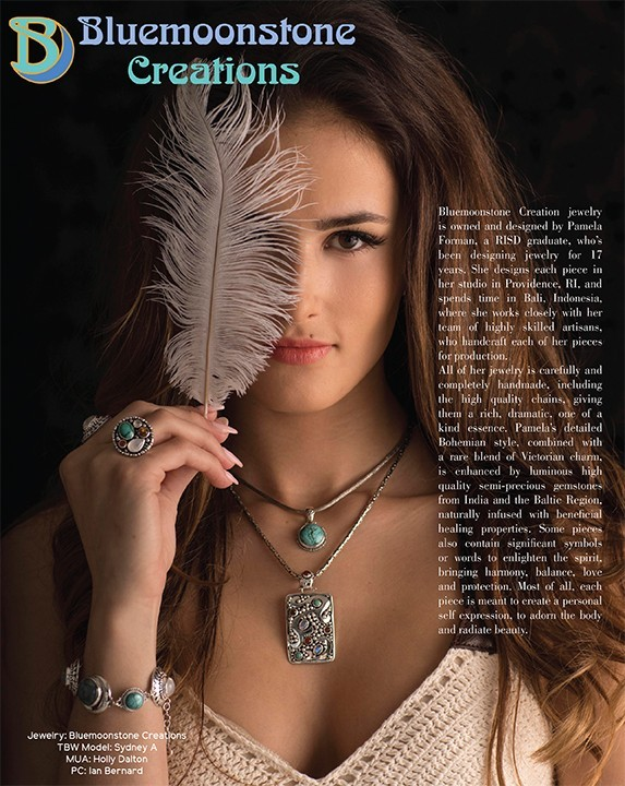 Bluemoonstone Creations featured in StyleUP Magazine