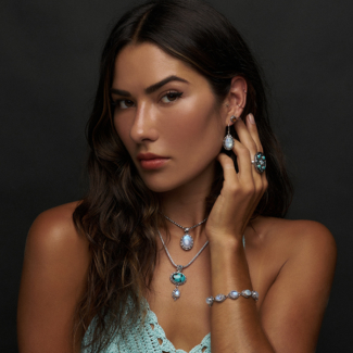 Silver Moonstone Turquoise Jewelry