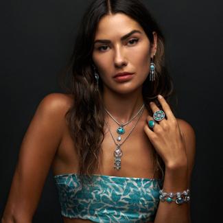 Silver Tibetan Turquoise Jewelry