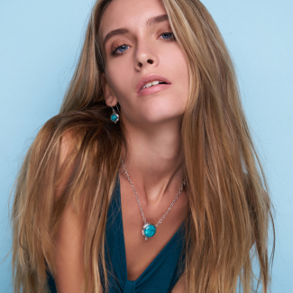 Sterling Silver Tibetan Turquoise Jewelry