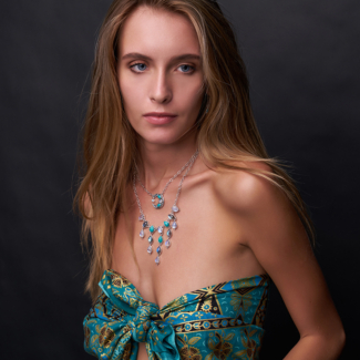 Rainbow Moonstone, Labradorite & Turquoise Jewelry