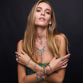 Sterling Silver Bohemian Gemstone Jewelry